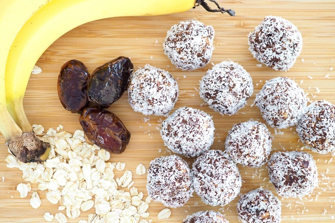 Banana Chocolate Energy Ball recipe