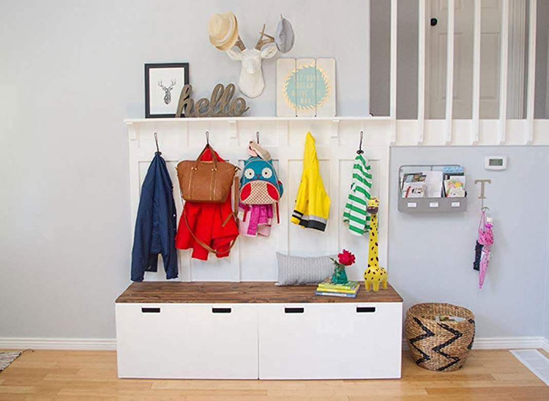 school bag storage ideas for homes