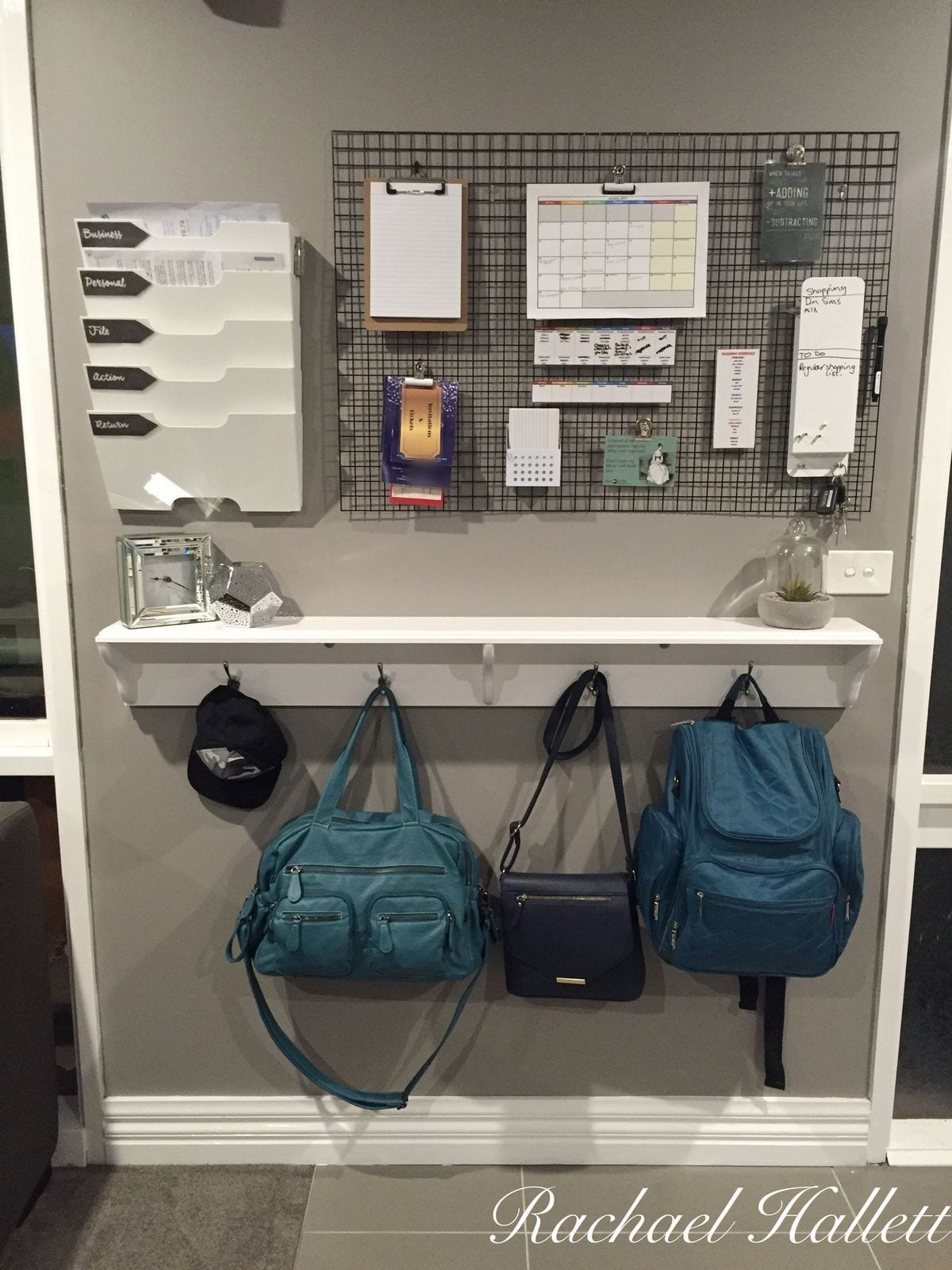 back to school storage space for school items