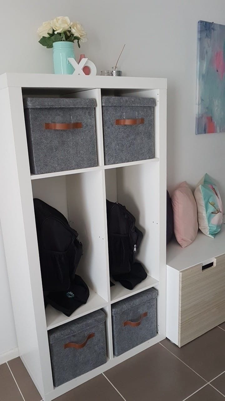 home organisation storage for school items