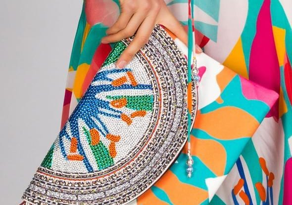 colourful outfit and accessories for women