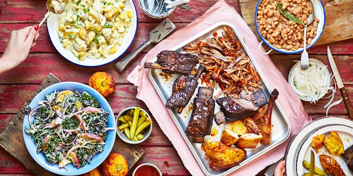Family BBQ recipes for barbecue dinners