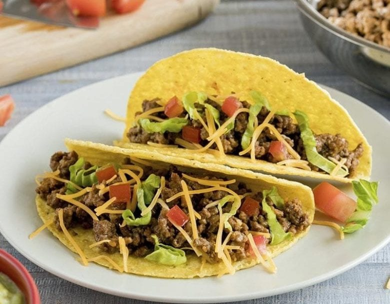 Quick and easy Mexican taco recipe