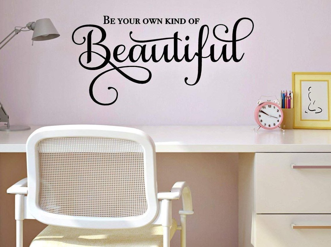 Be your own kind of beautiful art for home office