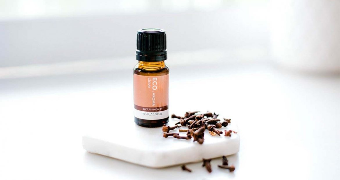 Clove essential oil for cleaning mould in the home
