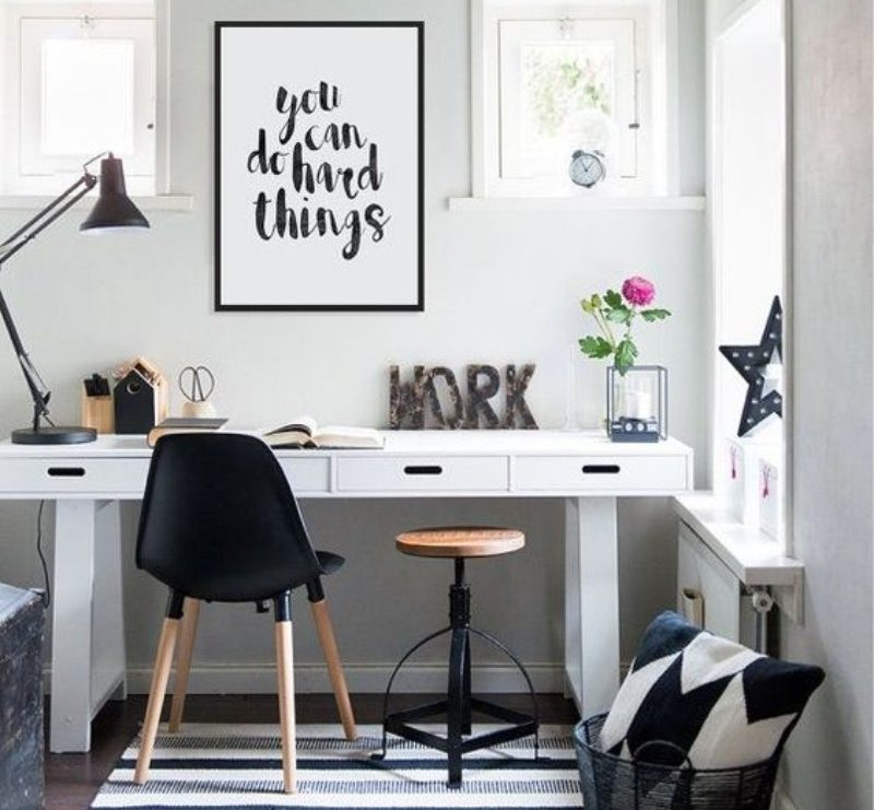 You can do hard things wall art for home office