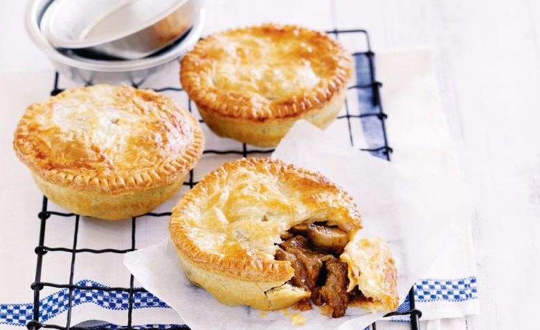 Homemade meat pies for family meal plan