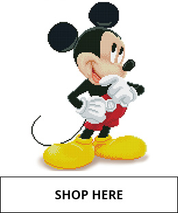 Mickey Mouse Diamond Dotz