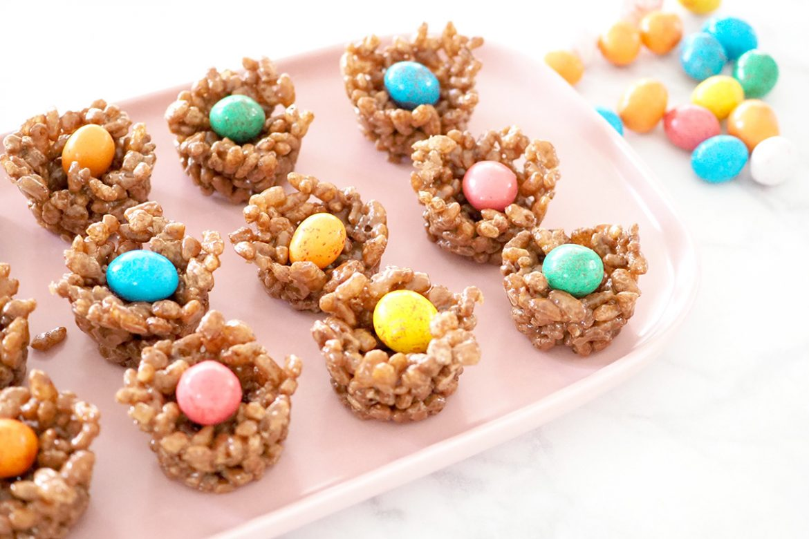 Chocolate Easter Crackle recipe