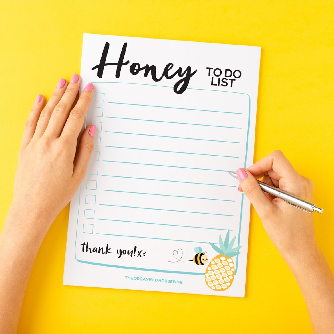 Honey to do list by The Organised Housewife