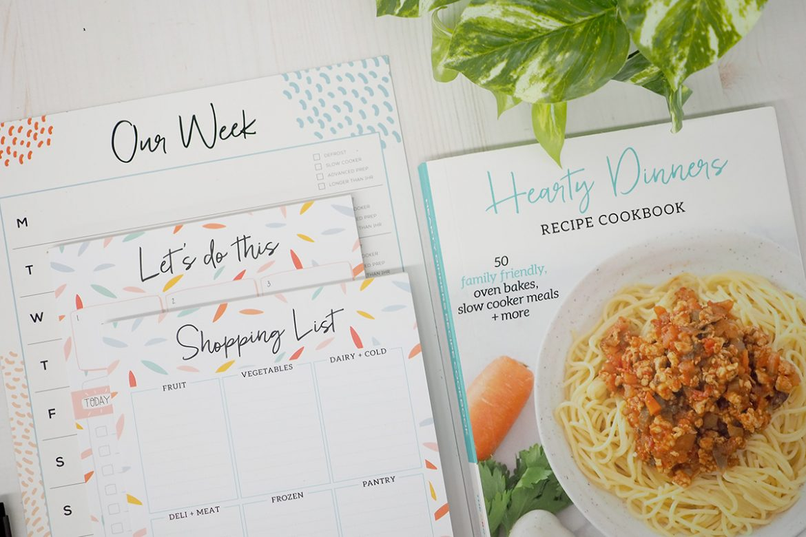 Stress less dinner bundle by The Organised Housewife