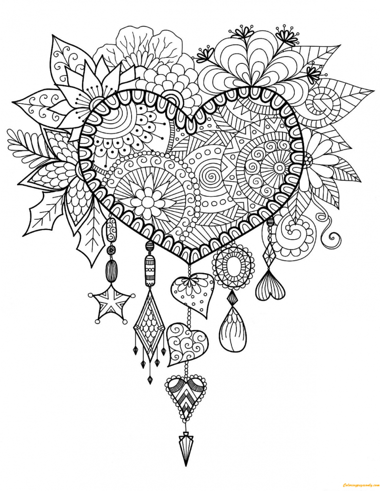- 20+ Free Adult Colouring Pages - The Organised Housewife
