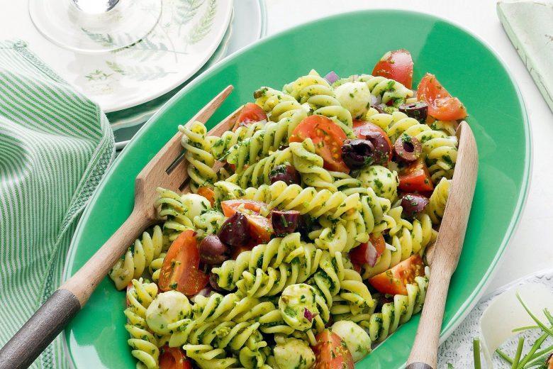 rocket pesto pasta salad recipe