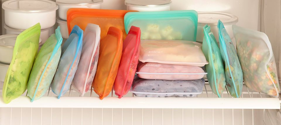 Freezer bags for food prep