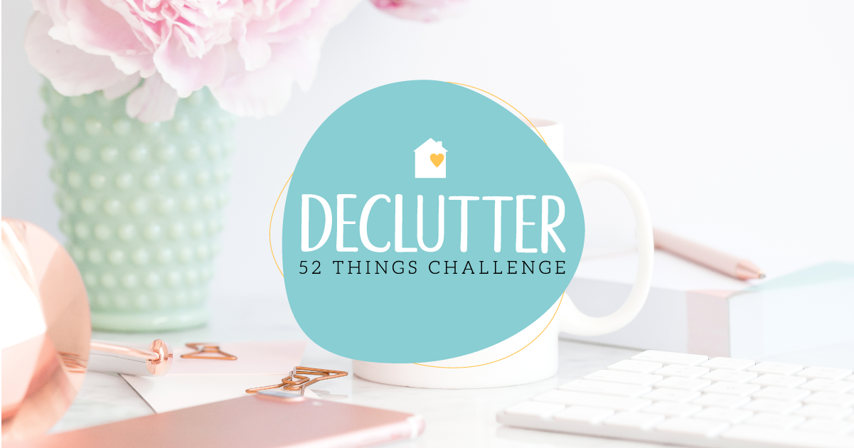 52 week declutter ecourse
