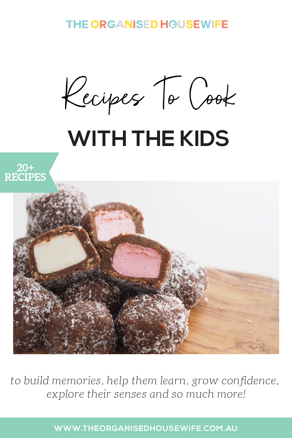 Recipes to cook with the kids