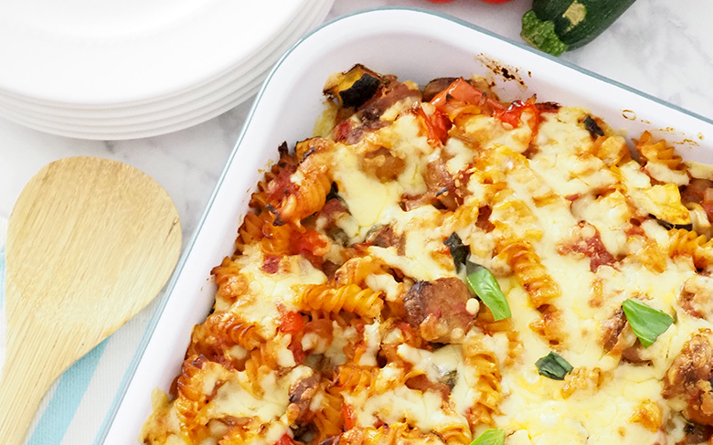 Sausage and Veg Pasta Bake