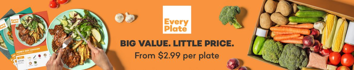 Every Plate affordable healthy dinner ideas