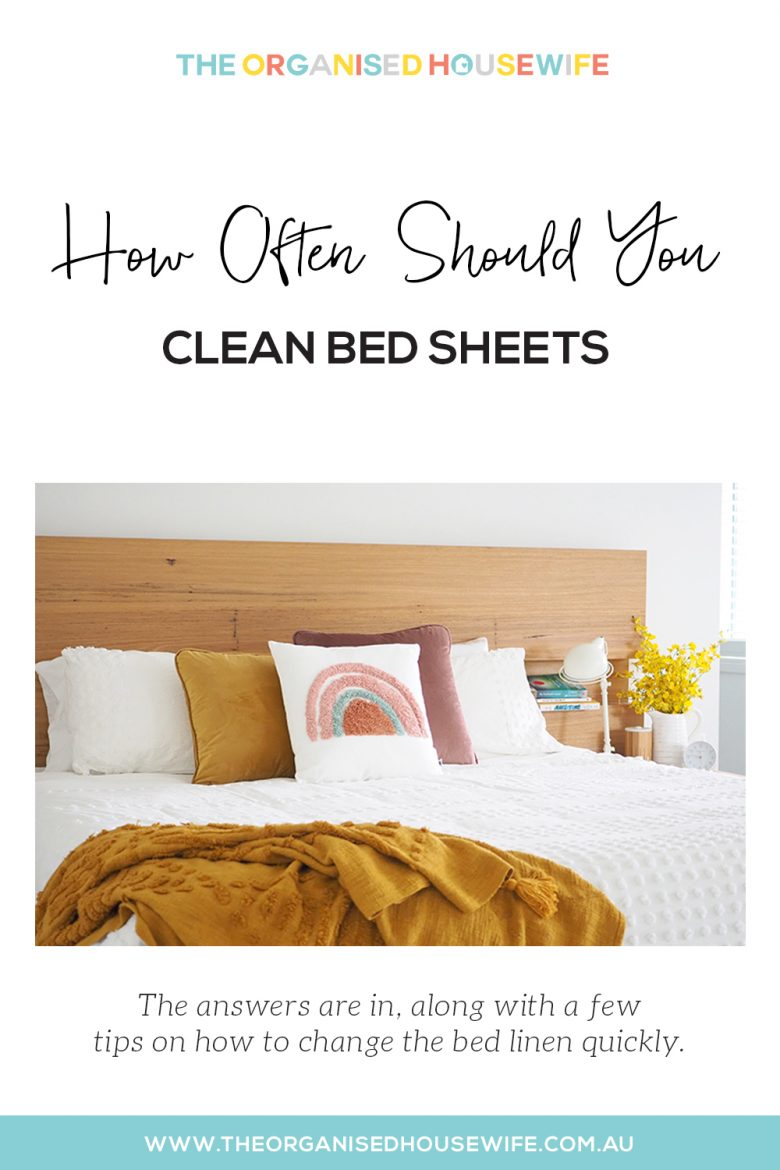 How Often Should You Clean Bed Sheets