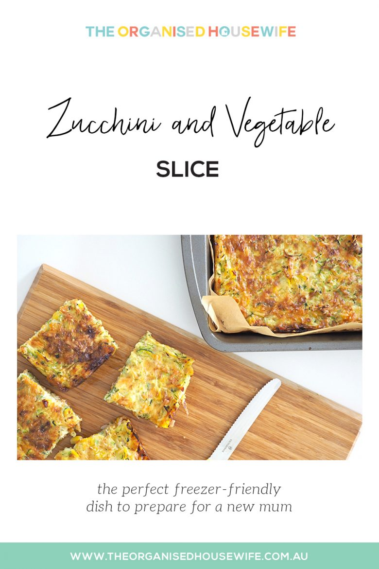 Zucchini and Vegetable Slice recipe
