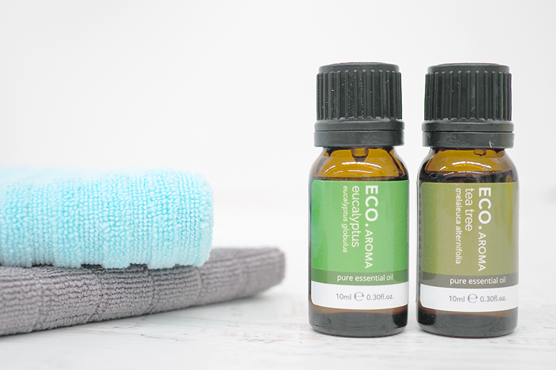 Essential oils for cleaning dirty walls