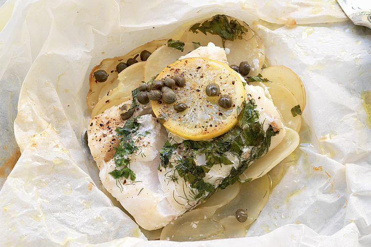 Herb and Citrus Oven Roasted Fish