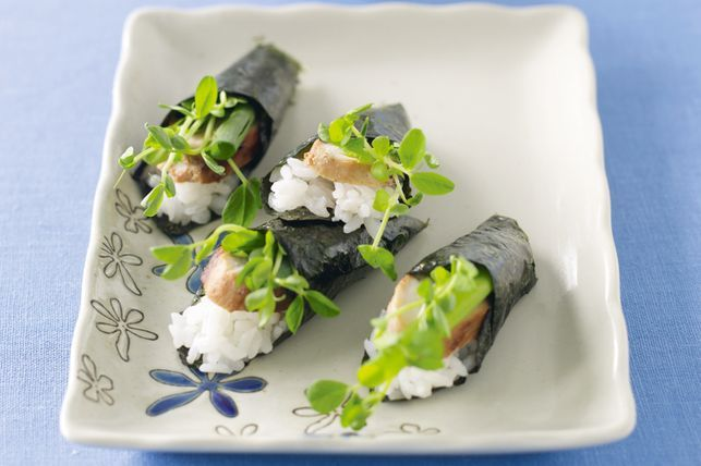 Teriyaki Chicken Sushi Roll