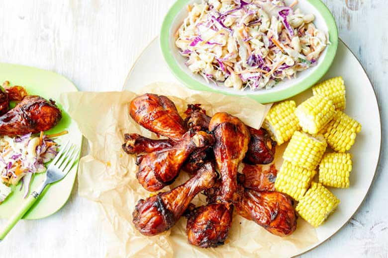 Easy BBQ Chicken Drumsticks