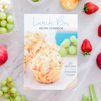 Cookbook for lunch boxes