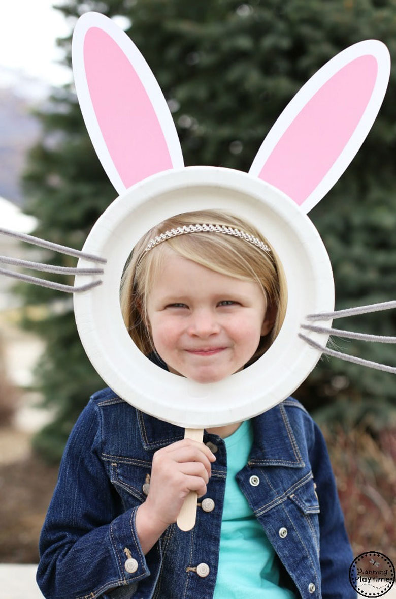 paper plate easter bonnet idea