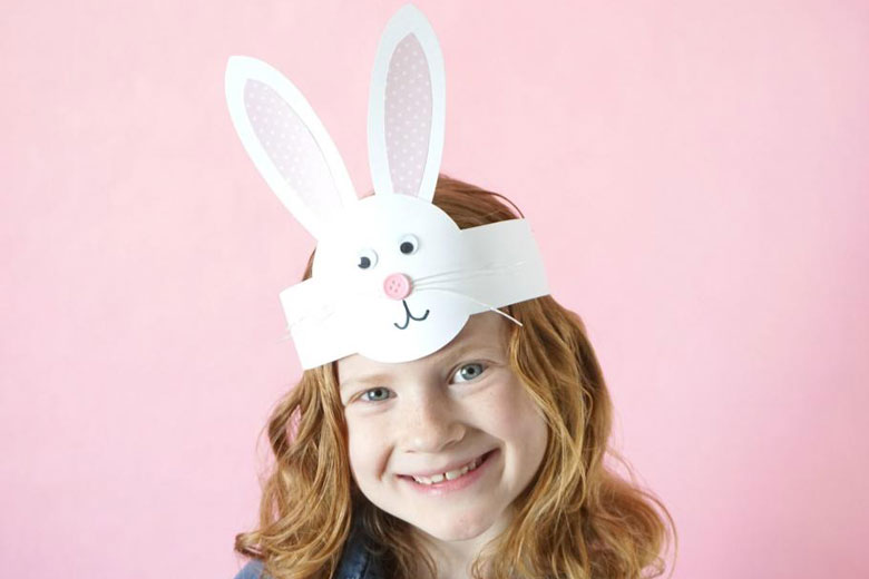 easter bonnet parade idea easy bunny headaband