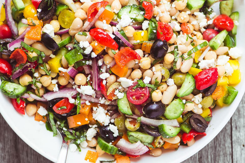 Vegetarian Recipe - Mediterranean Bean Salad