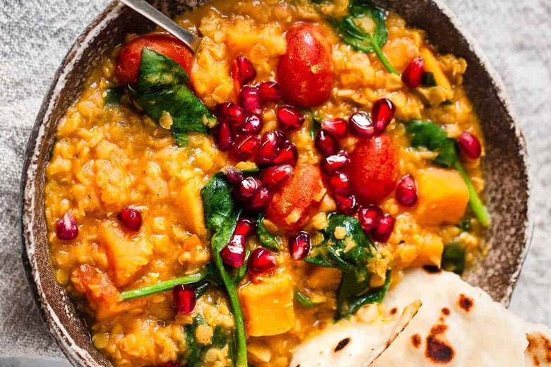 Vegetarian Meal Idea - Red Lentil Dahl