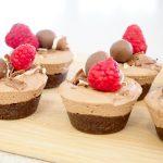 No-Bake Marble Chocolate Cheesecake
