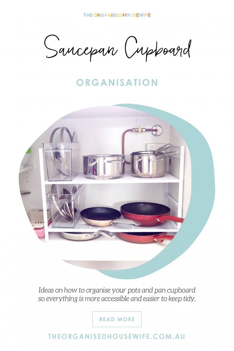 pots and pans organisation