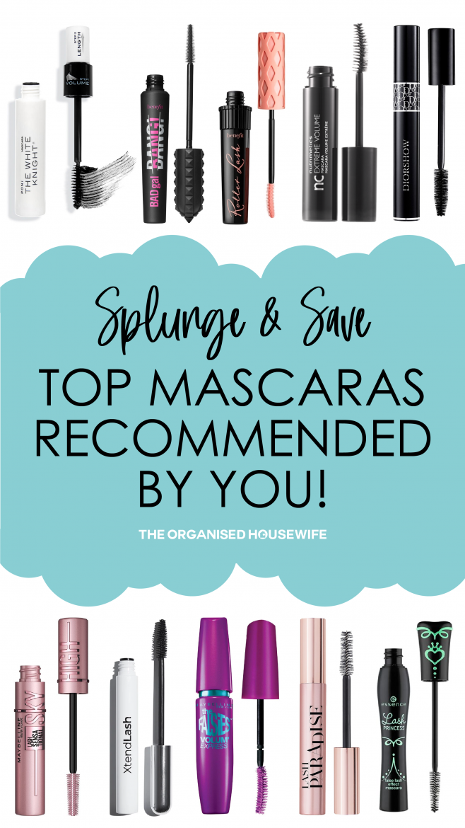 top recommended mascaras