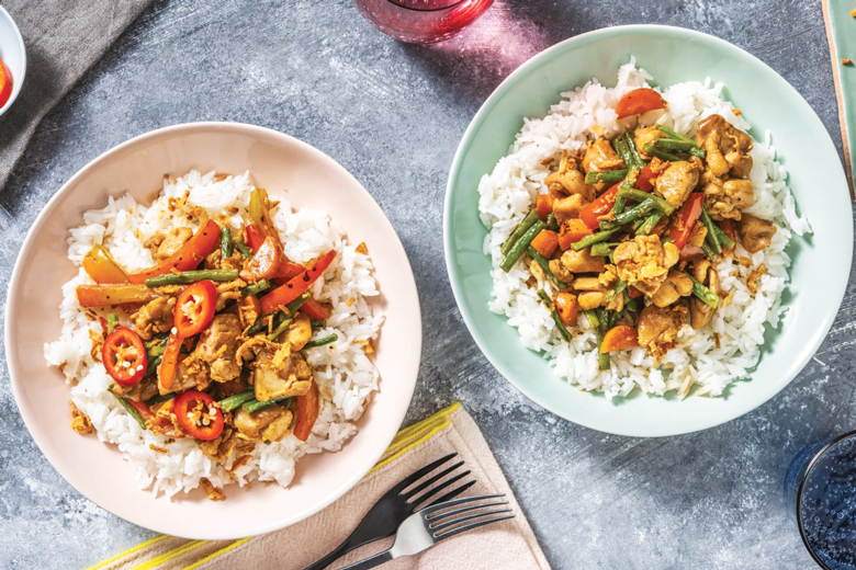 family meal plan ideas chicken curry