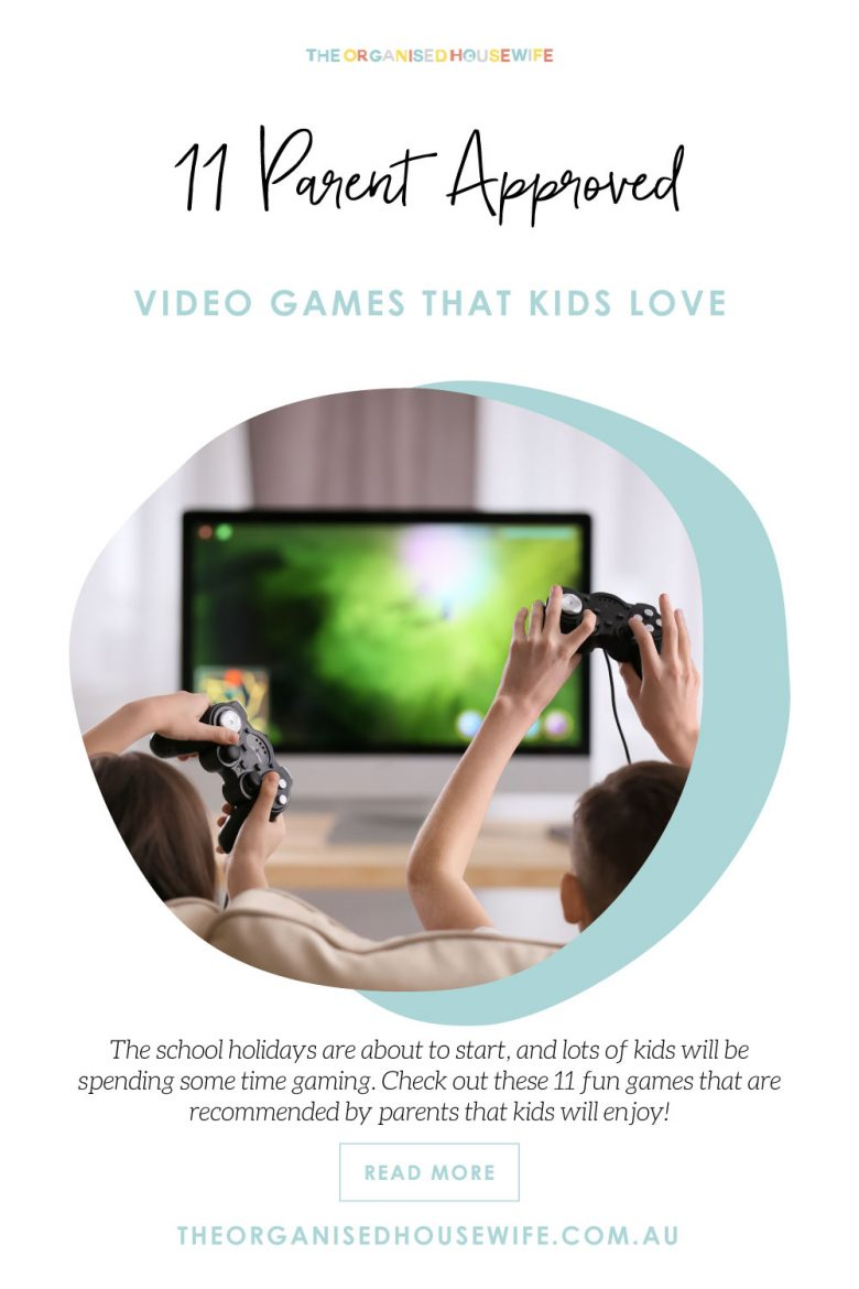 video games that kids and parents like
