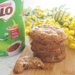 Milo and Coconut Cookies