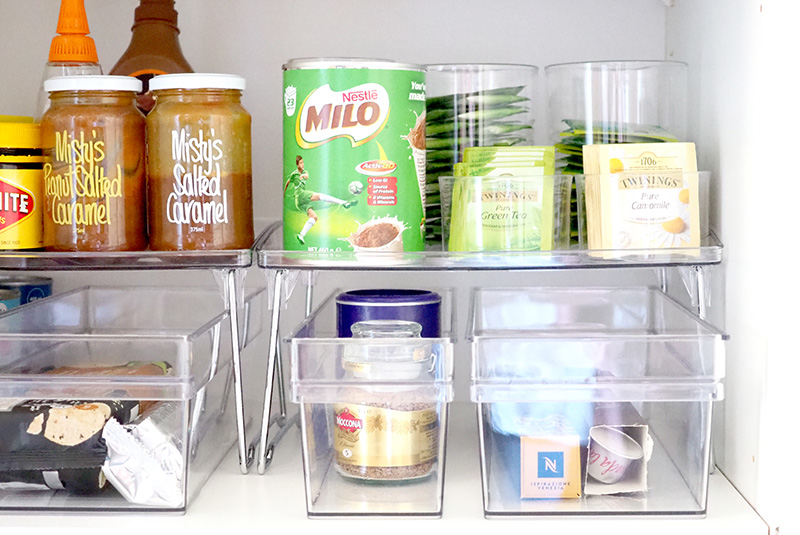 Deep Pantry Makeover