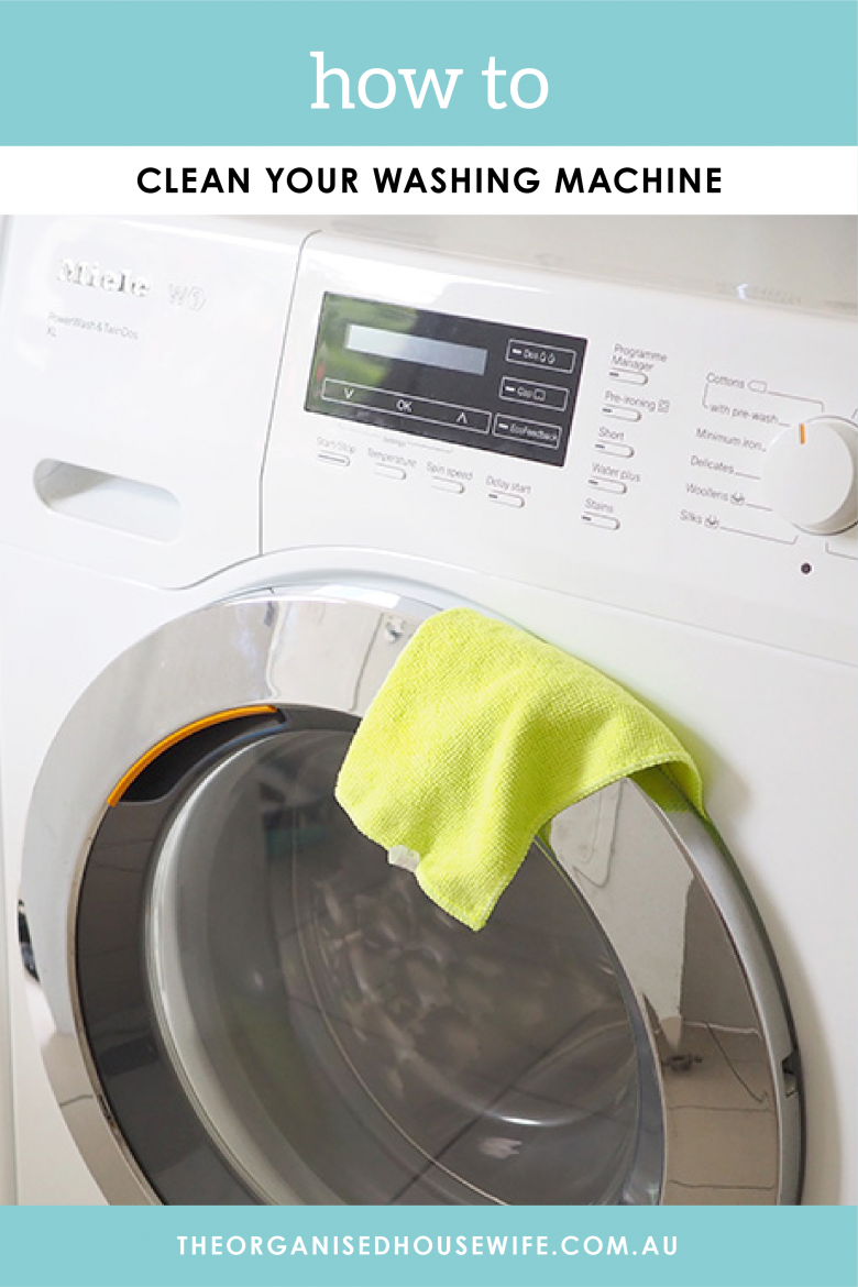 HOw to clean your washing machine